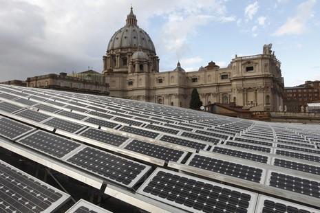 教宗本篤將「地球神學」注入環保運動