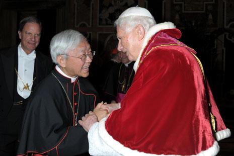陳日君樞機發表赴羅馬送別教宗感言