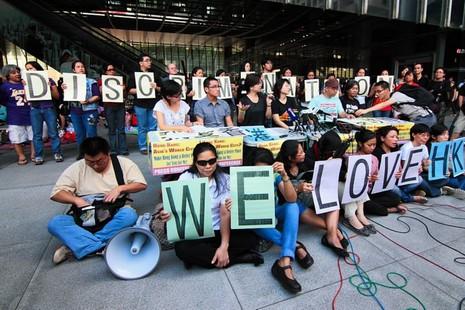 外籍家傭爭取香港居留權官司終審敗訴