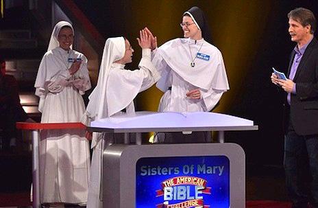 美國道明會修女冀在電視聖經競賽中取勝 thumbnail