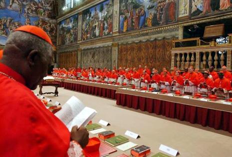 教宗選舉三月十二日開始,樞機準備好投票 thumbnail