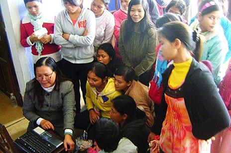 越南修女勸阻少數民族早婚打破不良循環