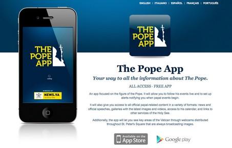 教宗手機應用程式成為最受歡迎軟件 thumbnail