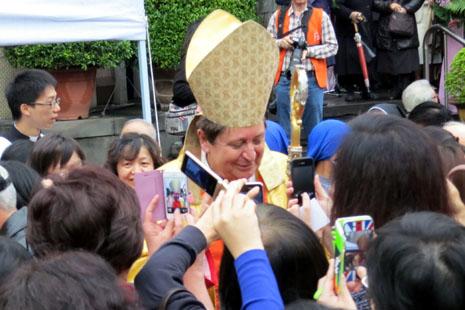 教廷部長鼓勵台灣教會持續擔當橋樑使命