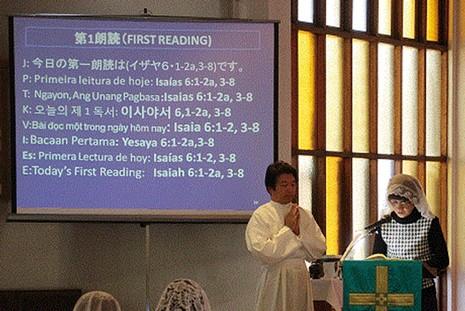 日本天主教堂利用社交媒體向信徒說話