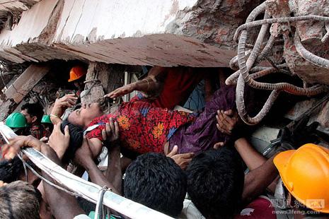 教宗為孟加拉塌樓慘劇祈禱並強調工人尊嚴