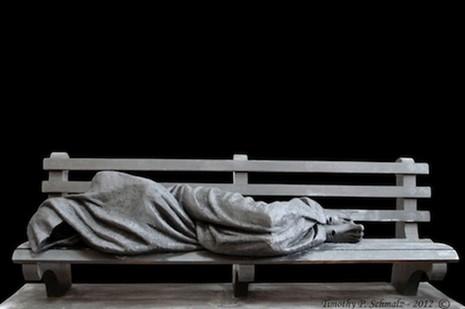 美加主教座堂拒收無家可歸的耶穌雕像