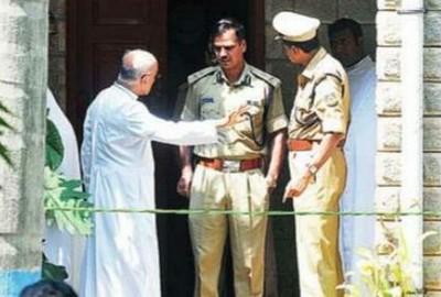 印度警方追緝殺害班加羅爾修院院長兇手