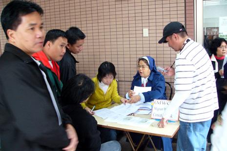 教會工作者批評台灣以外勞作「外交祭品」