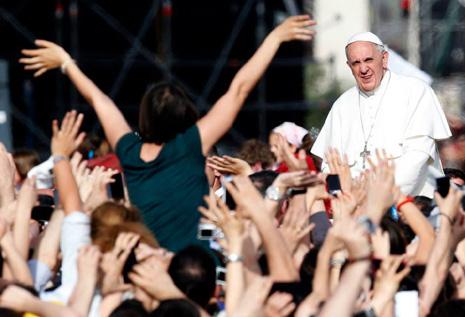 教宗或於一六年出席菲律賓國際聖體大會 thumbnail