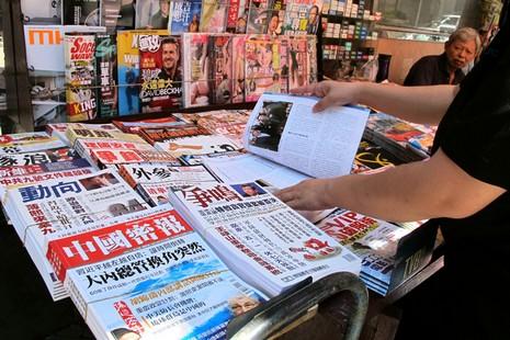 大陸新聞不自由令香港政論雜誌銷量倍增