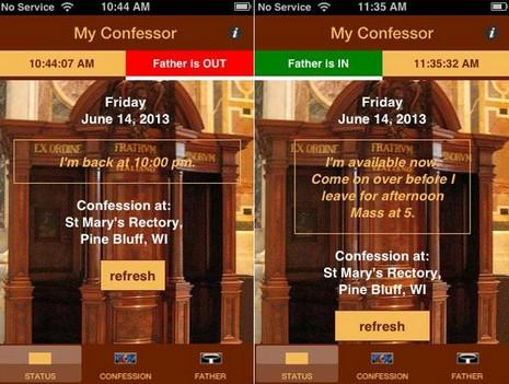 美國神父新開發一款告解應用程式