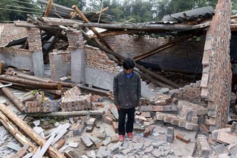 蘭州岷縣受冰雹天災後今再受地震打擊