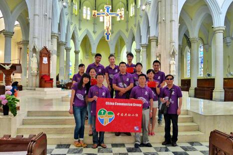 中國大陸青年團體準備參加世青節