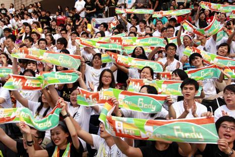 香港世青節同步活動號召年輕人做傳教士