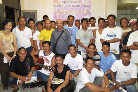 菲籍漁工為自救組成台灣首個外勞工會