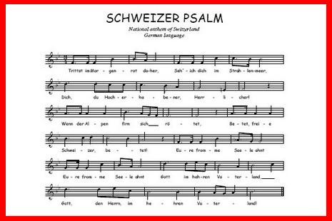 瑞士擬以新國歌去除原曲的宗教味