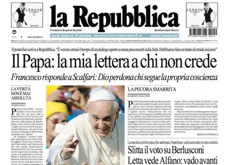 教宗向報章撰文勉勵無神論者聽從良心