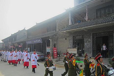 江蘇千年水郷古鎮逾半世紀後重啟宗教活動