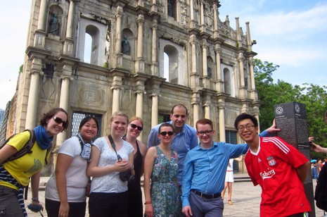 德國青年訪姊妹教區感受香港華人教會活力