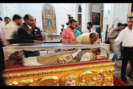 印度公布聖方濟各沙勿略聖髑展日期 thumbnail