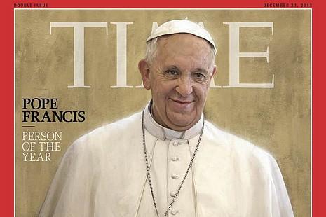 「人民的教宗」方濟各膺《時代》風雲人物