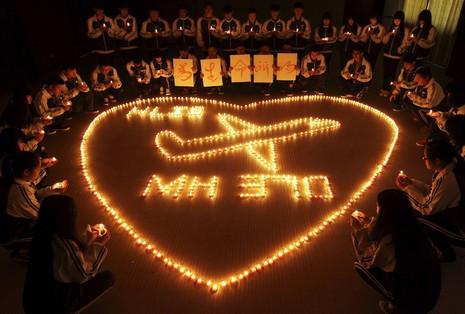 教宗為失聯馬航的乘客、機組人員和家屬祈禱