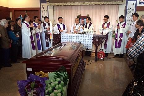 華人教會領袖悼念上海教區范忠良主教,鼓勵教友