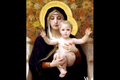 獻給母親節:虔敬聖母賜福中華