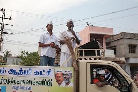 神父為反核參加印度地方選舉