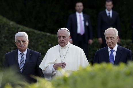 教宗說梵蒂岡有九成九的人反對以巴祈禱會