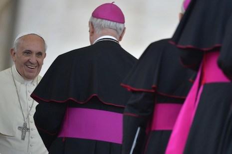 梵蒂岡公布關於家庭的世界主教會議的工作文件