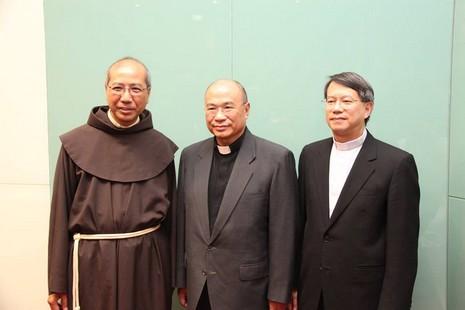 教宗方濟各為香港教區任命三位新輔理主教