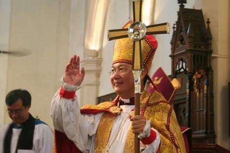 聖公會大主教被指諷刺示威者,引起基督徒極大迴響