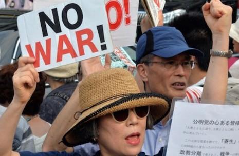 日本主教團發表聲明反對政府改變軍事政策