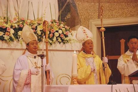 貴陽教區蕭澤江主教就職正權主教