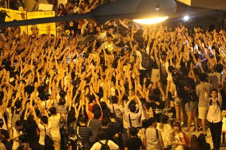 教會團體辦祈禱會;陳樞機提醒警方,示威者乃兄弟