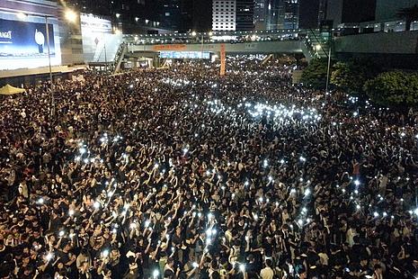 教會連日來為香港局勢作不同形式的守望祈福