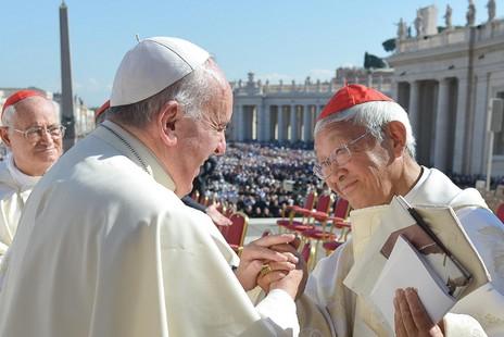 陳日君接受雜誌訪問稱,勸教宗暫不要到訪中國