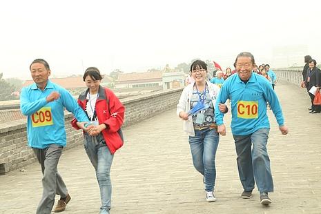 教會機構首辦老年馬拉松,藉以提升老人生命質量