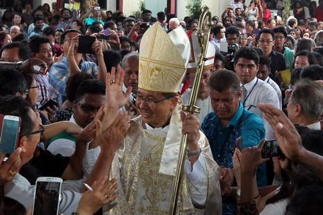吉隆坡總教區祝聖首位華裔總主教