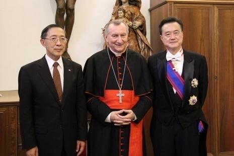 台外長自教廷返,曾見國務卿談陸修生在台就學