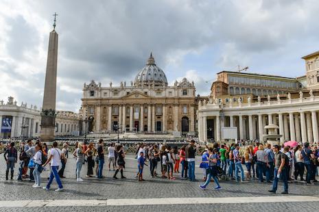 梵蒂岡增設公共淋浴設備,照顧羅馬無家者需要 thumbnail