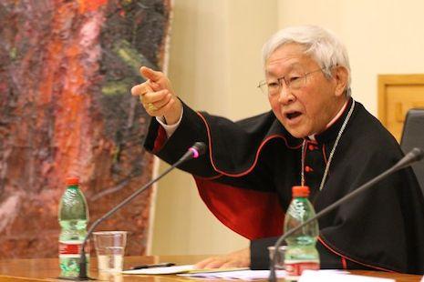 陳日君樞機指共產主義是亞洲人文價值的最大威脅