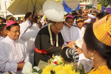 緬甸天主教開教五百年,致力促進民主發展 thumbnail