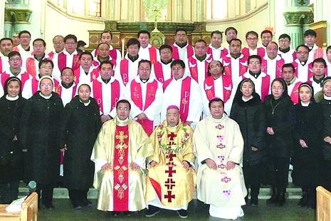 太原教區慶祝主教晉牧紀念暨奉獻生活年開幕禮