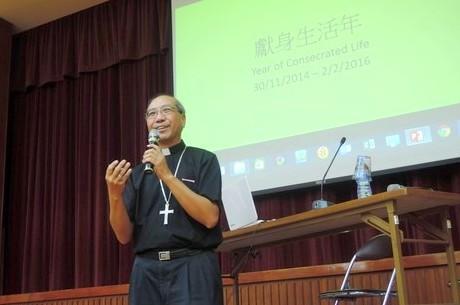 香港教區獻身生活年開幕,無分彼此團結各修會