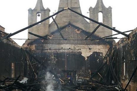 偏遠地區教友身體力行重建教堂,並盼有心人捐助