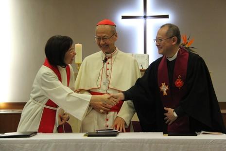 香港基督宗教團體為合一祈禱周發表呼籲文