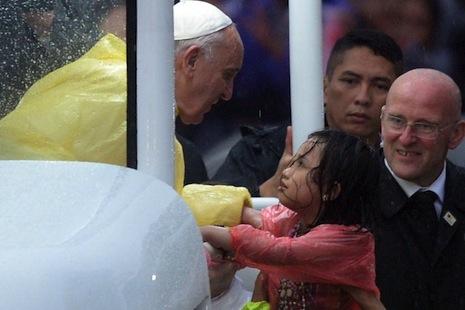 【特稿】上主的神臨於教宗,派遣他向菲律賓傳報喜訊